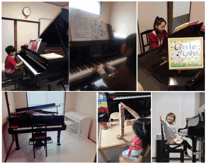 ミュージックコース 教室の様子
